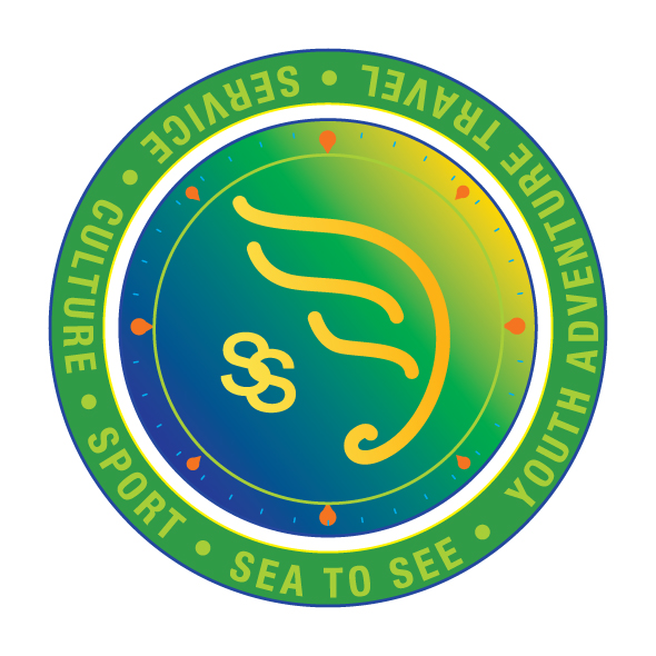 Logo Identity Design for Sea To See Youth Adventure And Service Travel Program