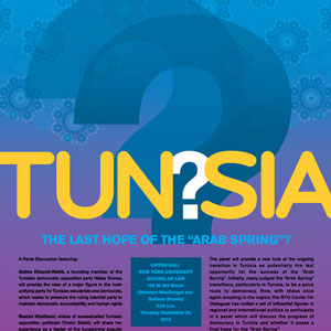 Poster for Tunsia Last Hope of the Arab Spring